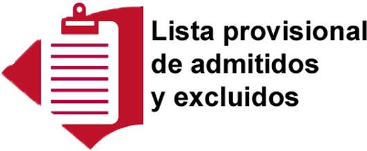 Publicadas las listas provisionales de admitidos y excluidos. Oposiciones funcionario 2017