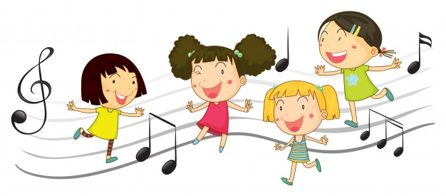 ninos-felices-bailando-con-notas-de-musica-en-el-fondo_1308-3615