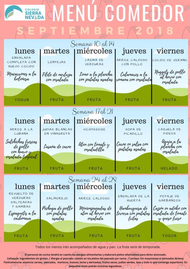 Comedor – CEIP Sierra Nevada de Granada
