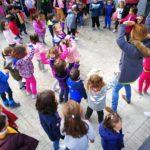 Bailando en infantil