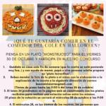 Concurso cocina Halloween