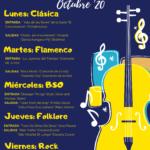 Sintonías musicales octubre 2020
